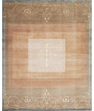 RugStudio presents Samad Presidential Pierce Taupe Hand-Knotted, Good Quality Area Rug