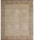 RugStudio presents Samad Presidential Roosevelt Taupe Hand-Knotted, Good Quality Area Rug