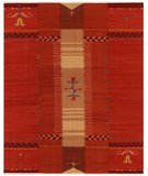 RugStudio presents Samad Spirit Earth Shooting Star Flat-Woven Area Rug