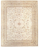RugStudio presents Samad Cote D'Azur St. Tropez beige/mushroom Hand-Knotted, Best Quality Area Rug