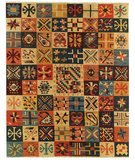RugStudio presents Samad Sunrise Tahoe Flat-Woven Area Rug