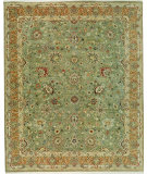 RugStudio presents Samad Cote D'Azur Toulon apple/cinnamon Hand-Knotted, Best Quality Area Rug