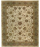 RugStudio presents Samad Cote D'Azur Toulon cream/jade Hand-Knotted, Best Quality Area Rug