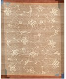 RugStudio presents Samad Presidential Truman Taupe Hand-Knotted, Good Quality Area Rug