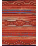 RugStudio presents Samad Navajo TS-13 Red Flat-Woven Area Rug