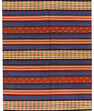 RugStudio presents Samad Navajo TS-20 Denim Blue Flat-Woven Area Rug