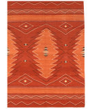 RugStudio presents Samad Navajo TS-21 Orange Flat-Woven Area Rug