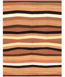 RugStudio presents Samad Navajo TS-25 Orange Flat-Woven Area Rug