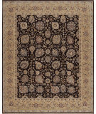 RugStudio presents Samad Cote D'Azur Valbonne Chocolate/Camel Hand-Knotted, Best Quality Area Rug