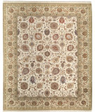 RugStudio presents Samad Cote D'Azur Valbonne ivory/cream Hand-Knotted, Best Quality Area Rug
