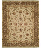 RugStudio presents Shalom Brothers Royal Zeigler Rzm-Sl1 Beige/Brown Hand-Knotted, Best Quality Area Rug