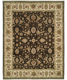 RugStudio presents Shalom Brothers Royal Zeigler Rzm-Sl6 Black/Beige Hand-Knotted, Best Quality Area Rug