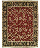 RugStudio presents Shalom Brothers Royal Zeigler Rzm-Sl6 Red/Black Hand-Knotted, Best Quality Area Rug