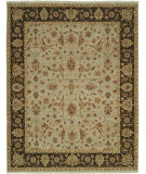 RugStudio presents Shalom Brothers Royal Zeigler Rzm-Sl6 Sage/Black Hand-Knotted, Best Quality Area Rug