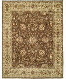 RugStudio presents Shalom Brothers Royal Zeigler Rzm-Sl7 Brown/Brown Hand-Knotted, Best Quality Area Rug