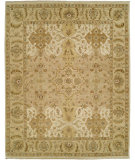 RugStudio presents Shalom Brothers Royal Zeigler Rzm-Sl8 Beige/Beige Hand-Knotted, Best Quality Area Rug