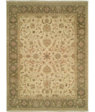 RugStudio presents Shalom Brothers Royal Zeigler Rzm-Sl10 Beige/Green Hand-Knotted, Best Quality Area Rug