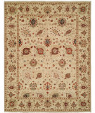 RugStudio presents Rugstudio Sample Sale 107658R Beige/Beige Hand-Knotted, Best Quality Area Rug