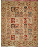 RugStudio presents Shalom Brothers Royal Zeigler Rzm-Sl205 Multi Panel Hand-Knotted, Best Quality Area Rug