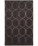 RugStudio presents Shalom Brothers Broadway B-11 Gray-Silver Silk Hand-Knotted, Best Quality Area Rug