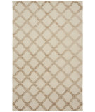 RugStudio presents Shalom Brothers Broadway B-293 Ivory-Beige Silk Hand-Knotted, Best Quality Area Rug