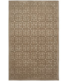 RugStudio presents Shalom Brothers Broadway B-3 Taupe - Beige Silk Hand-Knotted, Best Quality Area Rug