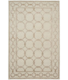 RugStudio presents Shalom Brothers Broadway B-4a Ivory-Beige Silk Hand-Knotted, Best Quality Area Rug