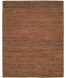 RugStudio presents Shalom Brothers Illusions Ill-2 Rust/Dark Green Hand-Knotted, Best Quality Area Rug