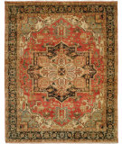RugStudio presents Shalom Brothers Jules Serapi Js-1035 Antique Wash Finish Hand-Knotted, Best Quality Area Rug