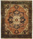 RugStudio presents Shalom Brothers Jules Serapi Js-554 Antique Wash Finish Hand-Knotted, Best Quality Area Rug