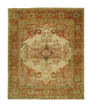 RugStudio presents Shalom Brothers Jules Serapi Js-635 Antique Wash Finish Hand-Knotted, Best Quality Area Rug