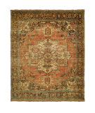 RugStudio presents Shalom Brothers Jules Serapi Js-654 Antique Wash Finish Hand-Knotted, Best Quality Area Rug