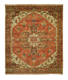 RugStudio presents Shalom Brothers Jules Serapi Js-754 Antique Wash Finish Hand-Knotted, Best Quality Area Rug