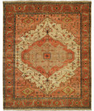 RugStudio presents Shalom Brothers Jules Serapi Js-954 Antique Wash Finish Hand-Knotted, Best Quality Area Rug