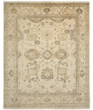 RugStudio presents Shalom Brothers Oushak Ou-41 Antique Wash Finish Hand-Knotted, Best Quality Area Rug