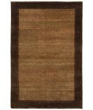 RugStudio presents Shalom Brothers Sunrise Sun-5009 Taupe/Brown Hand-Knotted, Best Quality Area Rug