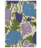 RugStudio presents Shaw Loft Ashar Purple 03900 Hand-Tufted, Good Quality Area Rug