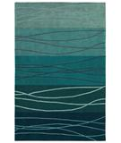 RugStudio presents Shaw Loft Cadentail Blue 17400 Hand-Tufted, Good Quality Area Rug