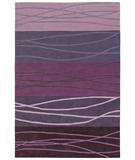 RugStudio presents Shaw Loft Cadentail Purple 17900 Hand-Tufted, Good Quality Area Rug