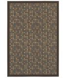 RugStudio presents Shaw Woven Expressions Gold City Block Chocolate 15700 Machine Woven, Better Quality Area Rug