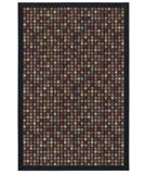 RugStudio presents Shaw Woven Expressions Gold City Block Ebony 15500 Machine Woven, Better Quality Area Rug