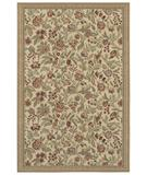 RugStudio presents Shaw Woven Expressions Gold English Floral Ivory 11105 Machine Woven, Better Quality Area Rug