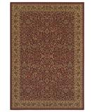 RugStudio presents Shaw Woven Expressions Gold Florentine Garnet 12800 Machine Woven, Better Quality Area Rug