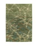 RugStudio presents Shaw Impressions Dancing Bamboo Sage 15300 Machine Woven, Best Quality Area Rug