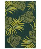RugStudio presents Shaw Loft Island Breeze Dark Teal 11320 Hand-Tufted, Good Quality Area Rug