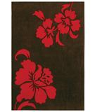 RugStudio presents Shaw Loft Izzy Brown 18700 Hand-Tufted, Good Quality Area Rug