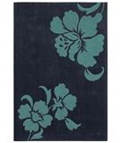 RugStudio presents Shaw Loft Izzy Navy 18410 Hand-Tufted, Good Quality Area Rug