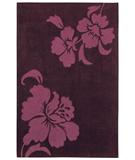 RugStudio presents Shaw Loft Izzy Purple 18900 Hand-Tufted, Good Quality Area Rug