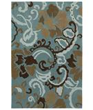 RugStudio presents Shaw Loft Johari Blue 00400 Hand-Tufted, Good Quality Area Rug