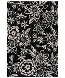 RugStudio presents Shaw Loft Lillian Black 15500 Hand-Tufted, Good Quality Area Rug